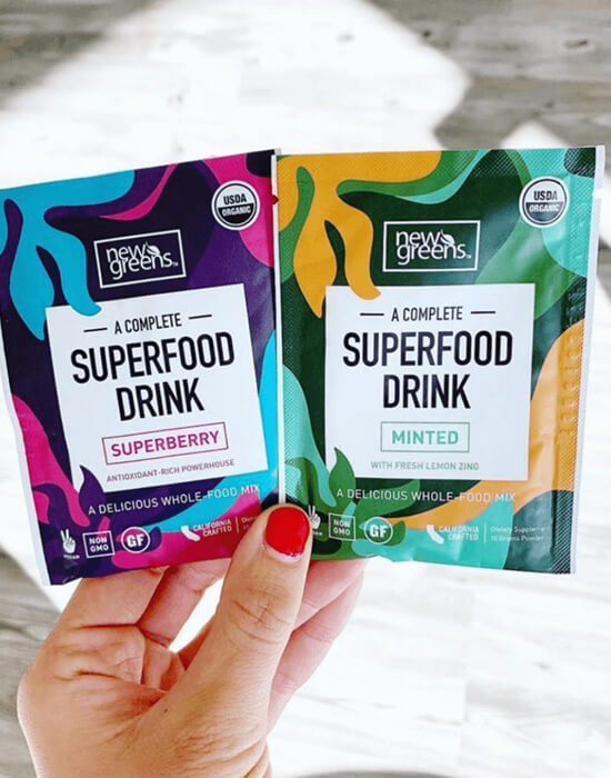 Newgreens Superberry and Minted Travel Packets