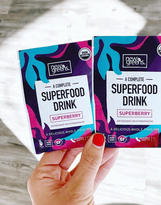 Newgreens Superberry Flavor Travel Packets